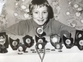 at 11 with medals